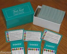Trivial Pursuit Family Game Questions for Adults 400 trivia cards vtg Horn Abbot