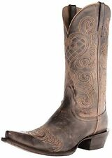 BNIB Ariat BRIGHT LIGHTS Western Cowboy Old West Brown Boots us10 uk7.5 eu41.5