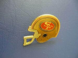 NFL San Francisco 49ers Helmet Logo Lapel Hat Pin