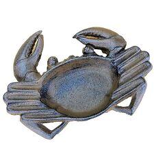 Crab Ashtray Cast Iron for Cigars Cigarettes Outdoor Nautical Decor