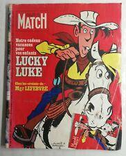 N424 Rivista Paris Match N° 1468 18 Juillet 1977 Lucky Luke, Morris & Goscinny