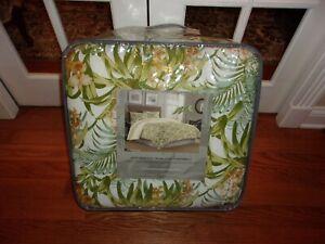 NIP Tommy Bahama Majorelle Jardin Floral Queen Comforter & Shams Set 3pc