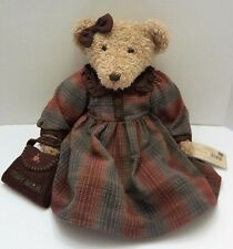 RUSS BERRIE Vintage Collection Lady Eleri Collectible Bear With COA    (P9)