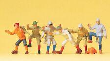Preiser 14082 H0, Bergsteiger, 6 Figuren, handbemalt, Neu