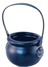 Plastic Witches Trick Or Treat Cauldron Halloween Fancy Dress Accessory P4974