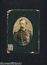 ORIGINAL CUSTER CABINET CARD PHOTO with HISTORY~ SD ~ YATES ~ GEORGE ~ MORA NY