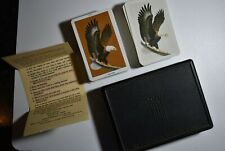 Vintage Eagle KEM Plastic Playing Cards-1985 Double Deck Collectible