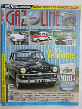 GAZOLINE N° 171/guide d'achat DS-ID/FORD VENDÔME/VOLVO 244 TURBO/GLAS ISAR T700