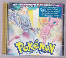 CD RARE 1999 LIKE NEW POKEMON Soundtrack THE MOTION PICTURE NINTENDO