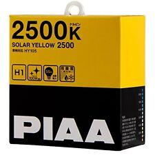 PIAA SOLAR YELLOW 2500 H1 Headlight halogen Fog Light Bulbs HY105 With Tracking