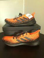 Adidas SenseBOUNCE+ Shoes, Hi-Res Coral/Core Black/Active Orange Size Men's 10.5
