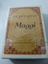 jeu de cartes MAGGI, reproduction d'anciennes gravures publicitaires (cpnb1)