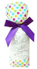 50 x SPOTTY EASTER Candy Bags Block Bottom Clear Cello Sweet Treat Gift Bags