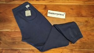 Norse Projects RO Heavy Cotton Sweatpants Navy MADE IN PORTUGAL apc wood