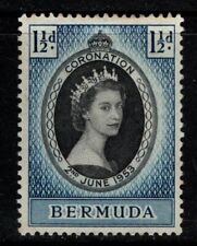 Bermuda 1953 Coronation SG134 Mint MH