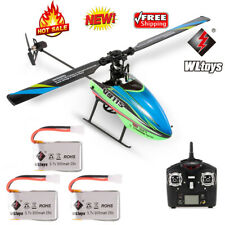 WLtoys V911S 4CH RC Helicopter w/ Gyroscope for Kids Toys w/ 3 Batteries E7R3
