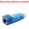 Ethernet USB 2.0 To Lan RJ45 Network Card Adapter 10/100 Mbps For Laptop PC