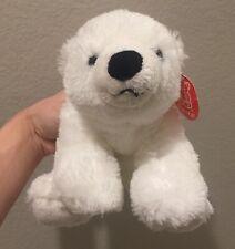 "Fiesta 9"" Floppy Polar Bear Plush Stuffed Animal Toy"