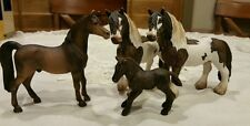 Schleich Lot of 4 Horses 2007 Stallions and Pony