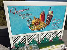 1998 Hallmark Bills Boards Famous Food Sign Kiddie Car Corner Collection QHG3614