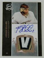 07/08 THE CUP JONAS HILLER 3 CLR ROOKIE PATCH AUTO  240/249