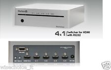 GefenTV GTV-HDMI1.3-441N  4x1 Switcher for HDMI with RS232  New