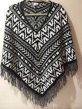 Rockmans Size S/M (Small/Medium) Knit Poncho Top
