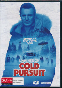Cold Pursuit DVD NEW Liam Neeson Region 2 4