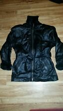 Wilsons Leather Mens Jacket coat S Small fur-lined Fur wilson's Insulated