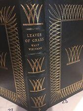 Easton Press: Walt Whitman: Leaves of Grass: Abraham Lincoln Drum Tap Poems