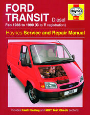 3019 Haynes Ford Transit Diesel (Feb 1986 - 1999) C to T Workshop Manual
