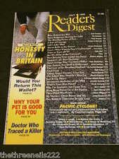 READERS DIGEST - HONESTY IN BRITAIN - JULY 1996