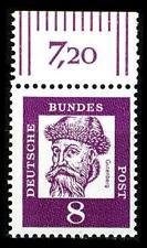 BUND bed. Deutsche (x)   8 Pf, (Mi. 349) ** Oberrandmarke Luxus
