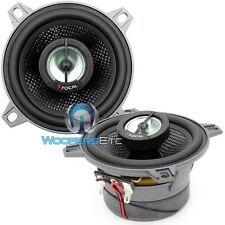 "FOCAL 100CA1SG  4"" CAR AUDIO 2-WAY ALUMINUM DOME TWEETERS COAXIAL SPEAKERS NEW"