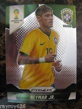 NEYMAR*BRAZIL*BARCELONA*SOCCER CARD*PRIZM 2014*WORLD CUP