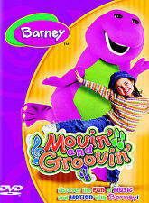 Barney~Movin and Groovin (Region1 DVD, 2004) VGUC~Comb(39c)Ship~Buy3 Get1 Free!