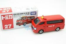 Takara Tomica Tomy #27 Nissan Caravan Fire Chief Scale1/69 Diecast Toy Car Japan
