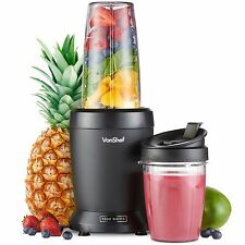 VonShef Personal Blender 1000W UltraBlend Smoothie Maker Nutrient Extractor