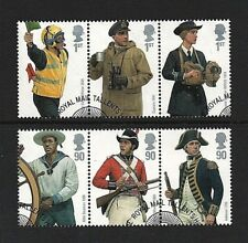 GB Stamps 2009 'Royal Navy Uniforms' - Fine used