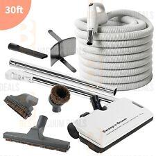 Central Vacuum Electric Unique Powerhead 30 Ft Hose Vac Electrolux kit- NEW