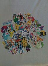 ** Lot 45 stickers autocollants - Pokémon - Pikachu - Pokémon Go - Pokéball   **