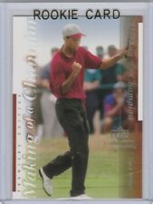 TIGER WOODS RC Premier Edition 2001 ROOKIE CARD Trading Golf PGA LE!