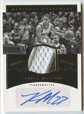 Kevin Martin 2014-15 National Treasures Night Moves 3 CLR Patch Auto Card 25/25