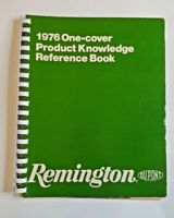 1976 Remington One Cover Product Knowledge Reference Book, Firearms / Ammunition