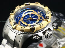 NEW Invicta Reserve 52mm Excursion Touring Swiss ETA Chronograph 200M SS Diver