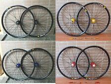 "Mavic 319 Rim 4 Color Modeng Hub MTB Mountain Bike 27.5"" F&R Wheel Disc Wheelset"
