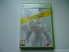 MICROSOFT XBOX 360 / Jeu Divinity II Ego Draconis [ Version Not For Resale ]