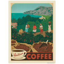 Haitian Coffee Decal 26 x 34 Peel and Stick Kitchen Decor