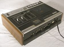Vintage Sony TC 121 Cassette Recorder Player for parts or repair