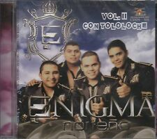 Enigma Norteno Vol 2 Con Tololoche CD New Nuevo Sealed